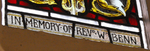 Rev Benn Window Close